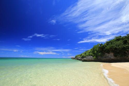 目の前が海という最高の環境です。
